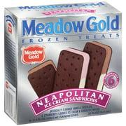 Meadowgold Meadow Gold Neapolitan Ice Cream Sandwich, 6 count