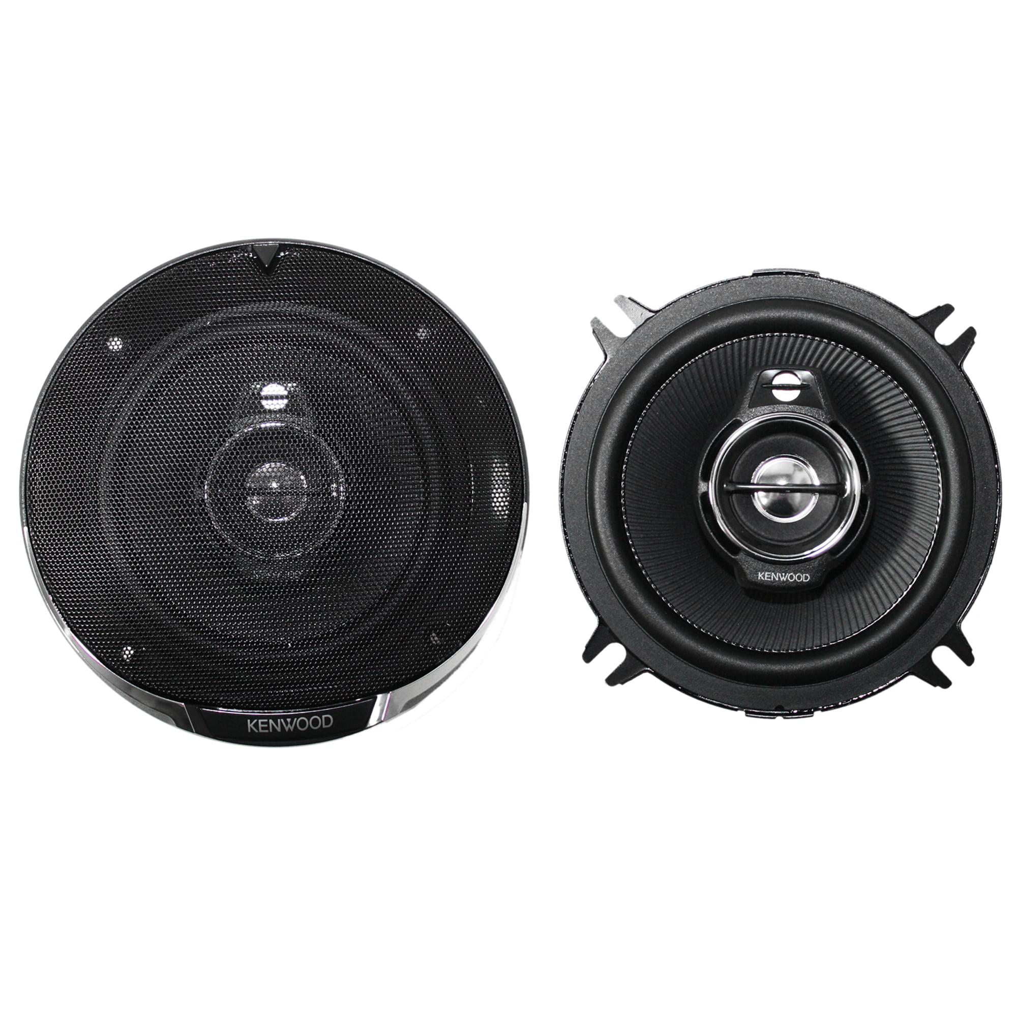 "Kenwood Pair of KFC-1395PS 5.25"" 320W 3-Way Car Audio Coaxial Speakers Stereo"