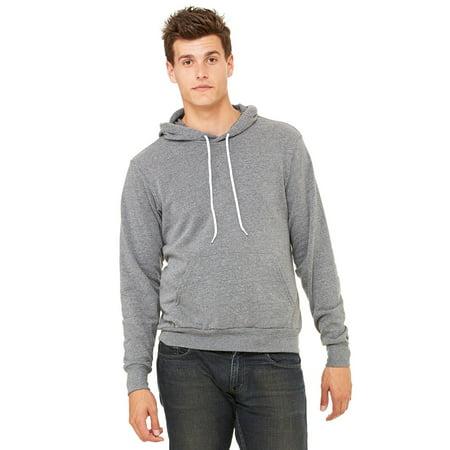Bella + Canvas 3719 Unisex Hooded Pullover Sweatshirt