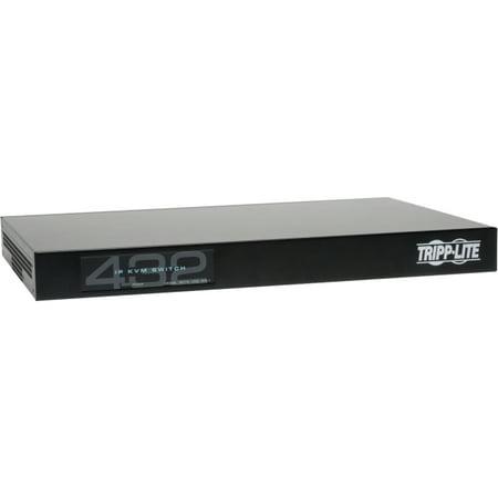 Tripp Lite 32-Port Cat5 IP KVM Switch 1 Local 4 Remote User 1URM