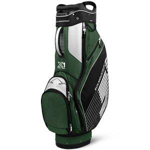 Sun Mountain X-1 Golf Cart Bag, Black/Green/White (Bag Boy Quad Vs Sun Mountain Micro)
