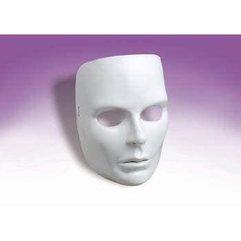 WHITE FACE MASK-FEMALE 12 - White Mask For Sale