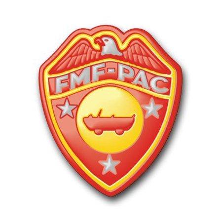 """US Marine FMF DUKW Decal Sticker 3.8"""""""