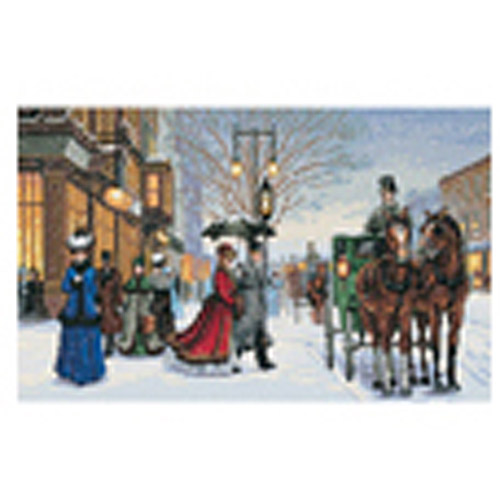 """Dimensions Gold Collection """"Gracious Era"""" Counted Cross Stitch Kit, 16"""" x 10"""""""
