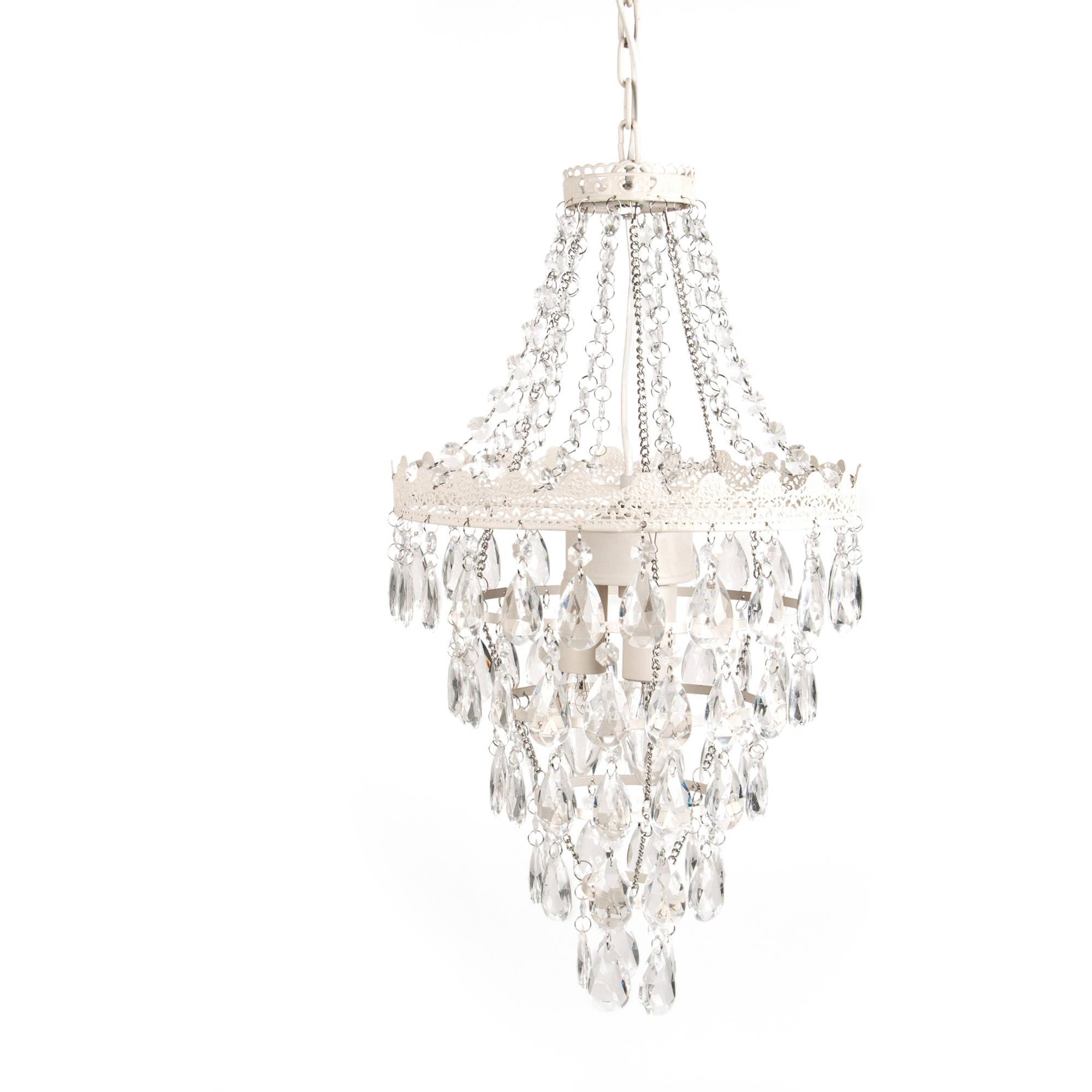 Tadpoles Pendant Lamp Chandelier, White Diamond by Tadpoles