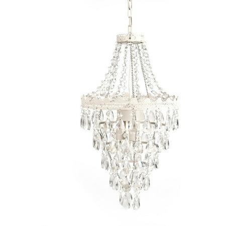 tadpoles pendant lamp chandelier white diamond walmart com