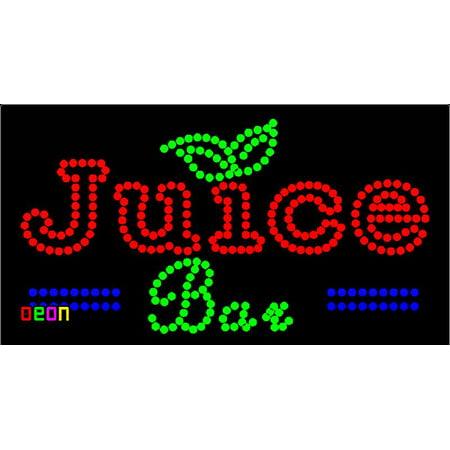 Juice Bar Led Sign - 24