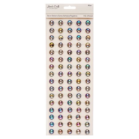 New 381873  Angels Craft Stone Sticker Gold (12-Pack) School Supplies Cheap Wholesale Discount Bulk Stationery School Supplies Beverages