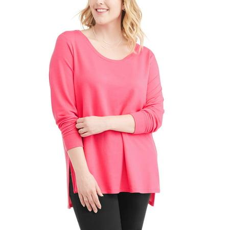 59480465407f7 Terra   Sky - Terra   Sky Women s Plus Athleisure Sweatshirt ...