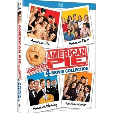 American Pie Unrated 4 Movie Collection  Unrated   Blu Ray
