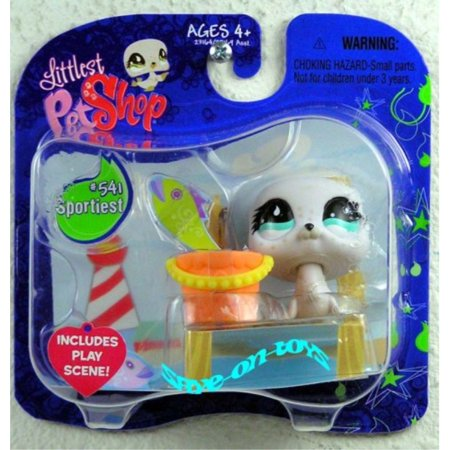 Littlest Pet Shop 541 Sportiest Seal (Littlest Pet Shop Sportiest)