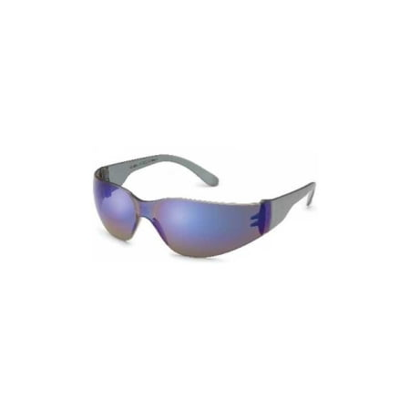 STARLITE SAFETY GLASSES, BLUE MIRROR LENS, Z87+ (Blue Mirror Safety Glasses)