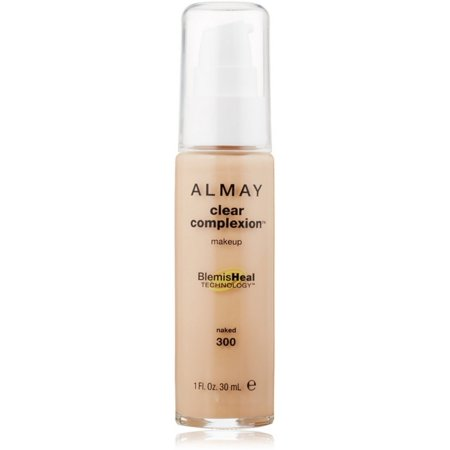 Almay Clear Complexion Makeup, Naked [300] 1 oz (Pack of (Almay Clear Complexion Blemish Healing Compact Makeup)