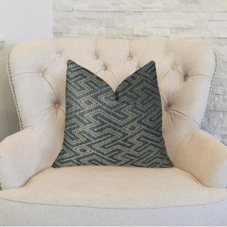 Plutus PBRAZ385-2036-DP City Lights Blue Handmade Luxury Pillow, 20 x 36 in. King - image 2 de 3