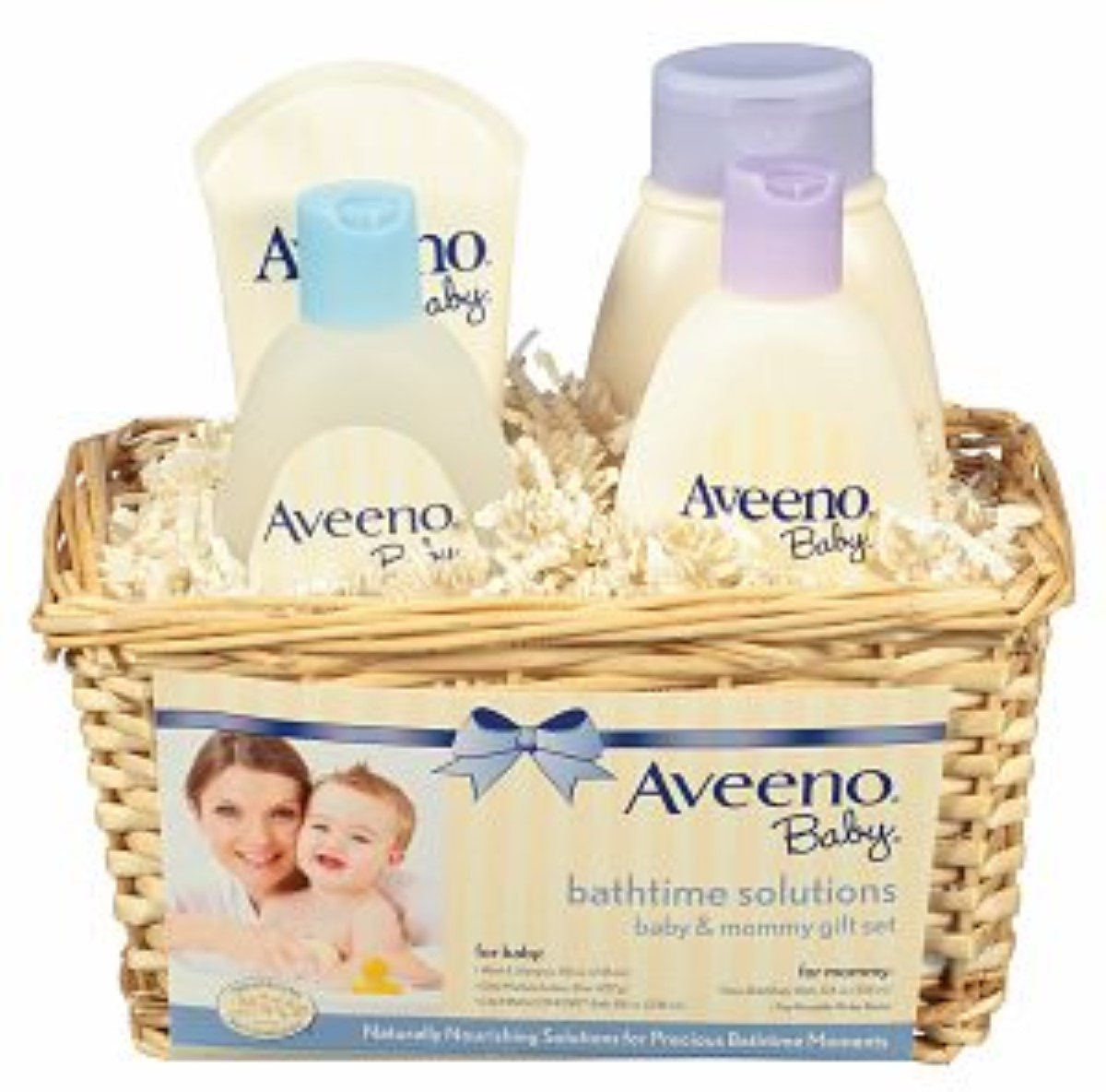 AVEENO Baby Daily Bathtime Solutions Gift Set 1 ea (Pack of 6)