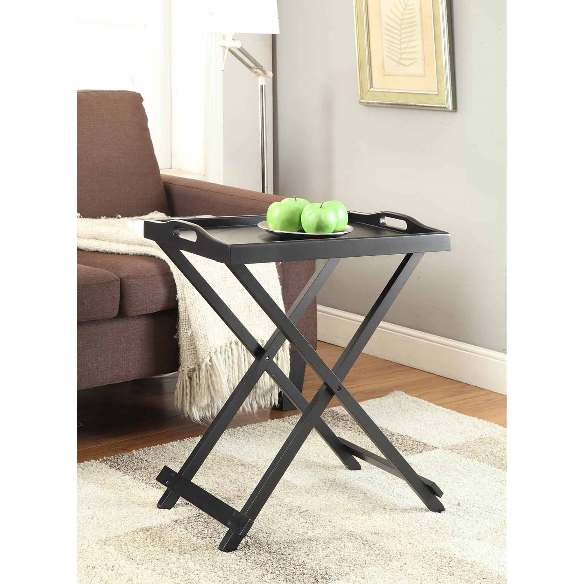 Mainstays Personal Table Black Walmart