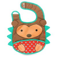 Skip Hop Zoo Tuck-Away Bib, Hedgehog