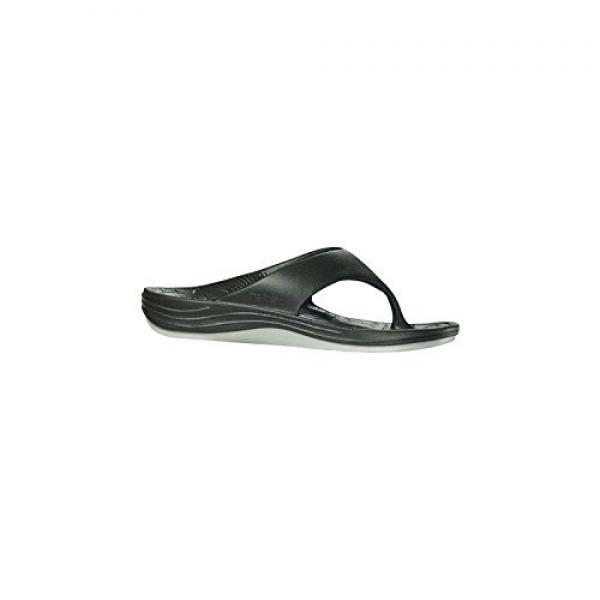 Aetrex Women's Flips by Lynco Black Synthetic Size 9 Medium by