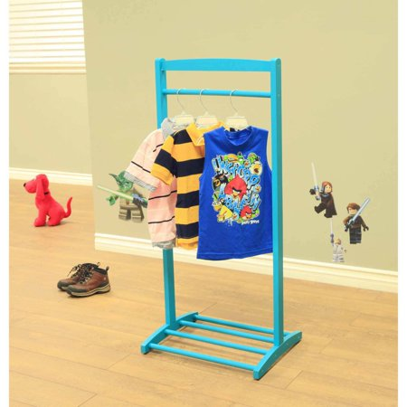 Home Craft Kids' Clothes Rack, Blue