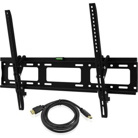 ematic tilting tv wall mount kit with hdmi cable for 30 79 displays. Black Bedroom Furniture Sets. Home Design Ideas