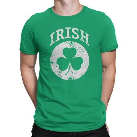 Irish Shamrock Clover Tee T-Shirt Unisex Mens Retro Shirt - Shamrock Skirt