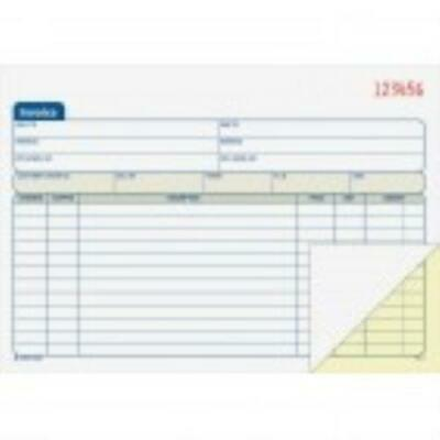 Adams Carbonless Invoice Book by
