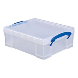 Really Useful Box® Plastic Storage Box, 8.1 Liters, 14
