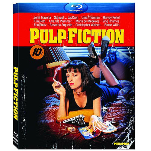 Pulp Fiction (Blu-ray) (With INSTAWATCH)