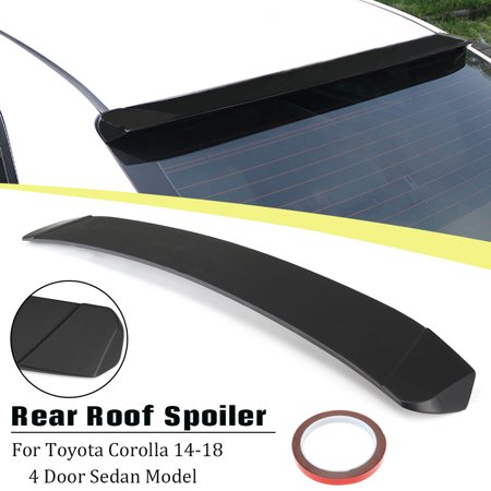 For Toyota Corolla 2014-2018 Rear Window Roof Visor Shade Guard Spoiler Wing 1992 Toyota Corolla Window