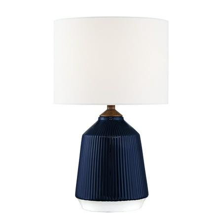 Lite Source LS-23350BLU Saratoga Table Lamps