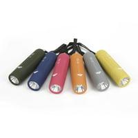 Ozark Trail Mini Handheld LED Flashlight, 50 Lumens, 6 Colors, Model 6103