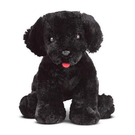Melissa & Doug Benson Black Lab - Stuffed Animal Puppy Dog
