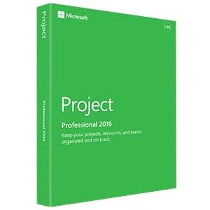 Microsoft Project 2016 Professional   Box Pack   1 Pc