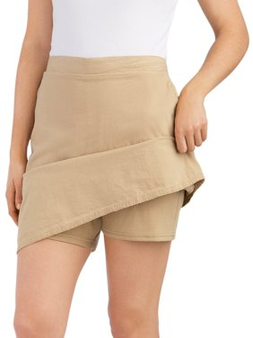 60d46f4764a69 Product Image Women s Cargo Skort With Elasticized Waist
