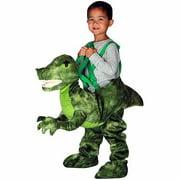 Green Dino Rider Toddler Halloween Costume