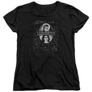 Labyrinth Maze Womens Short Sleeve Shirt