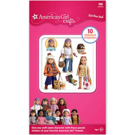 American Girl Crafts ® Historical Characters Sticker Pad Stickers