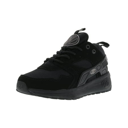 Heelys Force Black / Ankle-High Fashion Sneaker - -