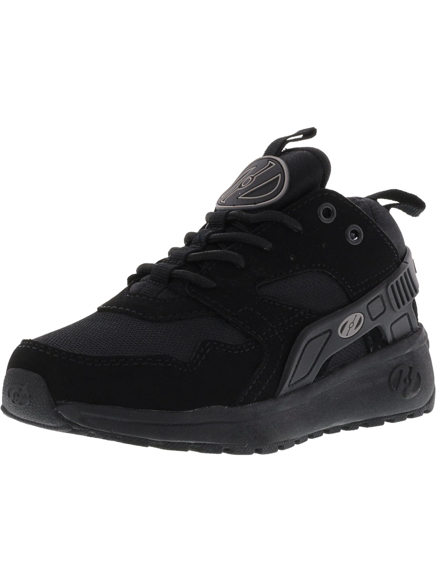 Heelys Force Black / Ankle-High Fashion Sneaker - 4M