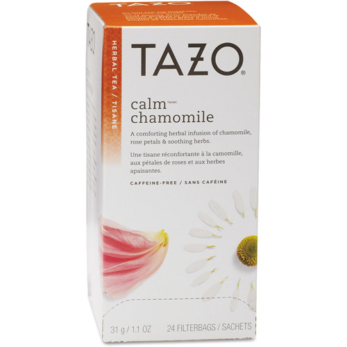 Tazo Calm Chamomile Tea Filterbags, 1.1 oz, 24 count