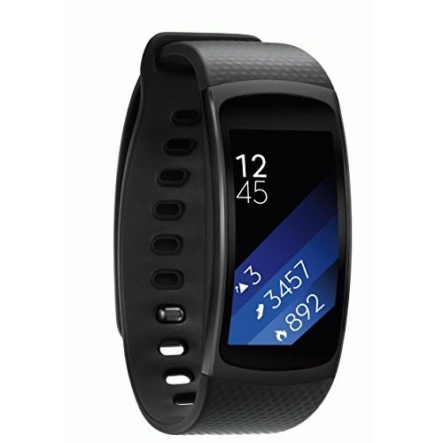 SAMSUNG Gear Fit2 Large Black - SM-R3600DAAXAR