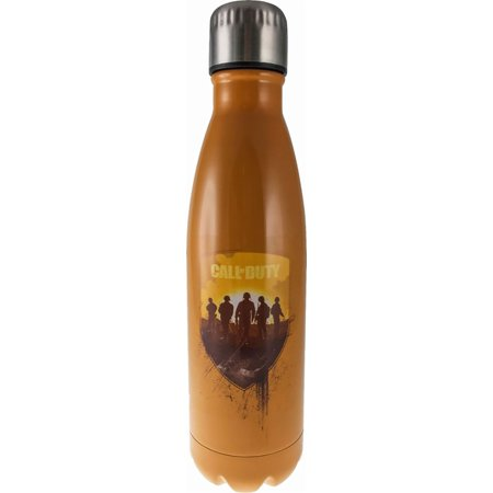 Surreal Entertainment Call of Duty 17Oz Steel Thermo Flask Water Bottle - Orange (Refurbished) Polystyrene Cell Culture Flask