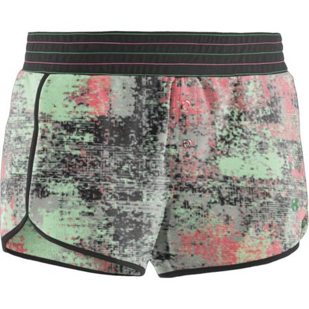 Under Armour Women's UA Pit Stop 3 Shorts-Pink-L