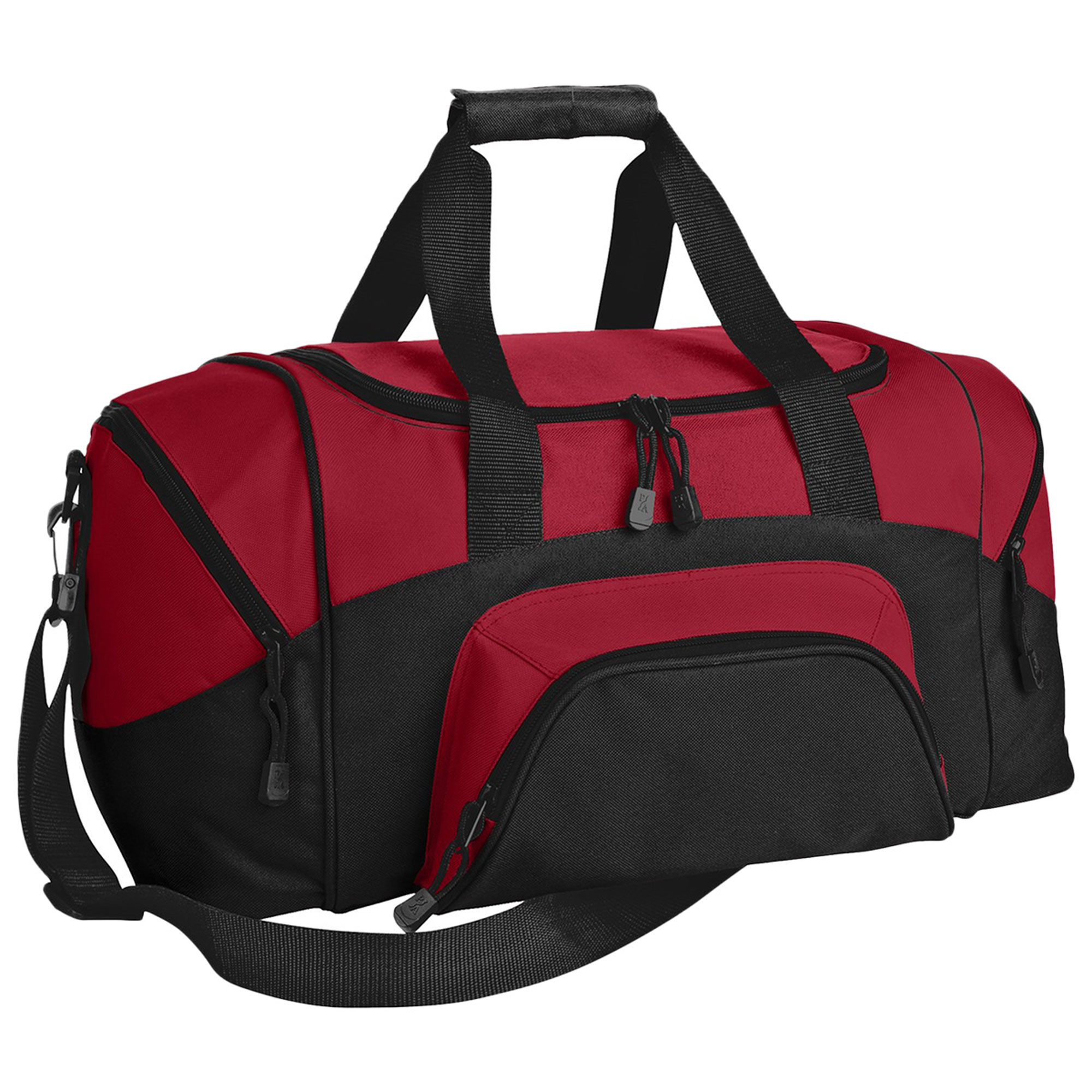 Port & Company Colorblock Adjustable Sports Duffle Bag by Port & Company