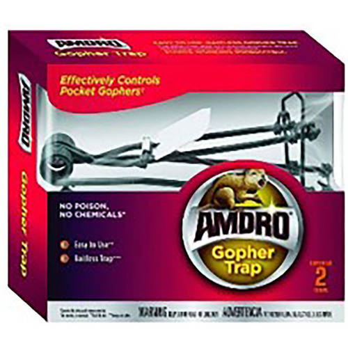 Amdro Gopher Trap, Bait-less Gopher Control, 2 Pack