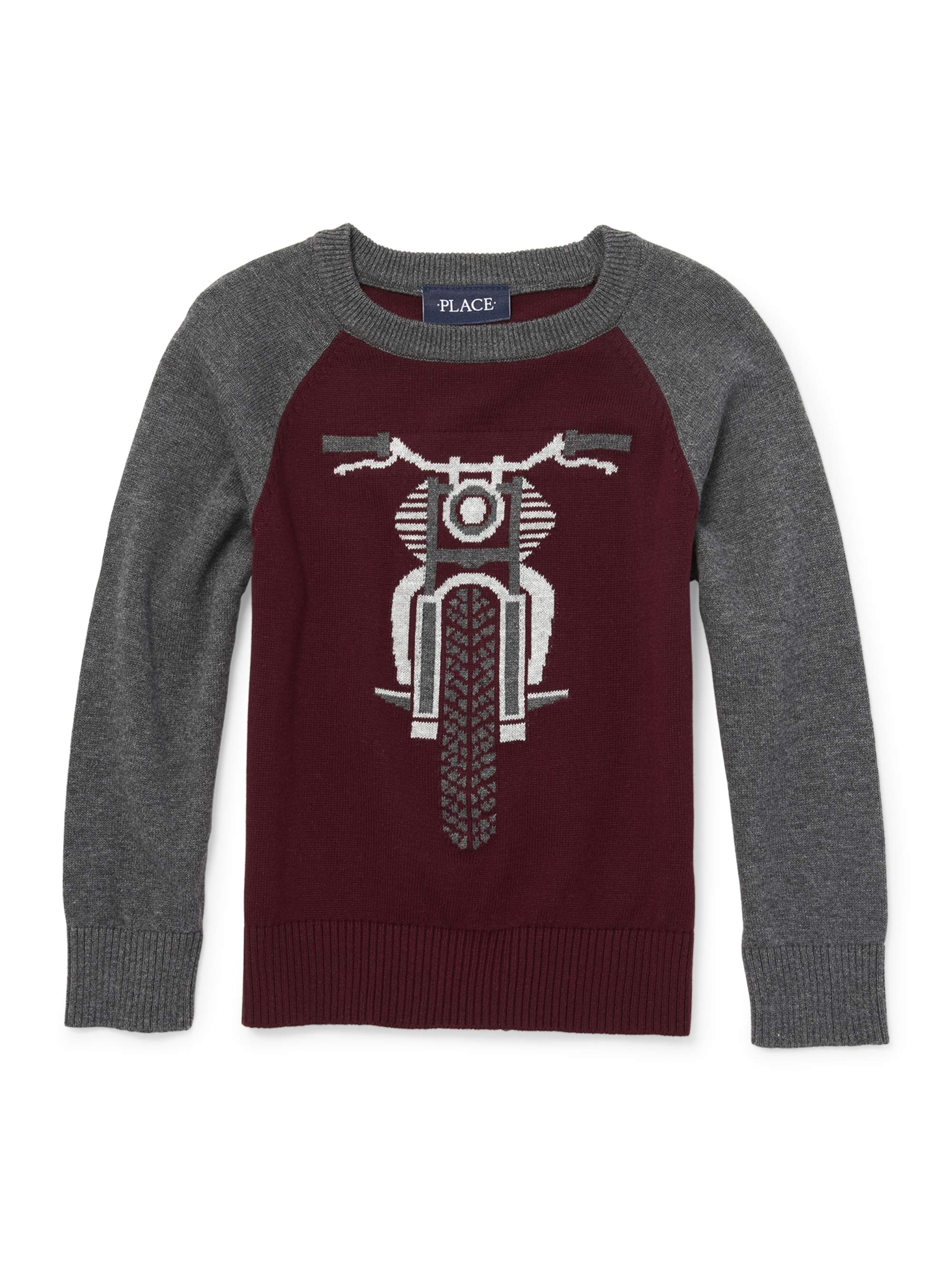 Long Sleeve Graphic Pullon Sweater (Little Boys & Big Boys)