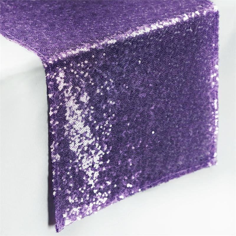 Efavormart Sequin Premium Table Runners For Weddings Birthday Parties Banquets Decor Fit Rectangle and Round Table