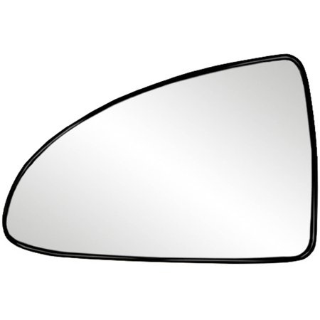 88206 - Fit System Driver Side Non-heated Mirror Glass w/ backing plate, Chevrolet Malibu Base, LS Model 04-08, Malibu SS Model 06-07, G6 05-10, 4 7/ 8