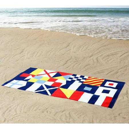 Seedling By Thomas Paul: 100% Nautical Cotton Beach Towel - Paul Frank Towel