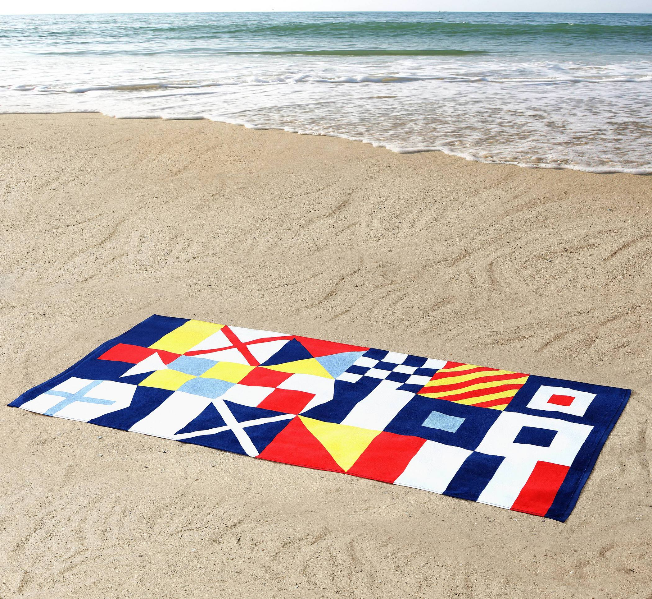 VCNY Home Seedling By Thomas Paul: 100% Nautical Cotton Beach Towel